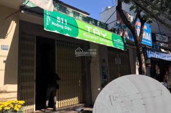 Cho thuê nhà đường Hoàng Diệu (đoạn 2 chiều), trống suốt tiện kinh doanh