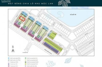 Cho thuê biệt thự Vinhomes Greenbay Mễ Trì: Khu Mộc Lan 2, DT 150m2, giá 45 triệu/tháng