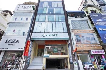 Bán nhà mặt tiền Thành Thái, P. 14, Quận 10, 5 lầu + thang máy, cho thuê 70tr/th. Giá 27.5 tỷ