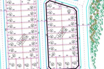 Bán liền kề nhà vườn đất chưa xây C27 DT 200m2 mặt tiền 8m mặt đường 20m cách 30m ra Lê Trọng Tấn