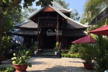 Bán biệt thự gỗ sang trọng, thoáng mát, chợ Búng An Thạnh, Thuận An, DT 1000m2