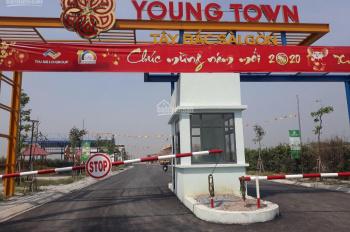 bán đất nền nhà phố YOUNG TOWN Cách cầu củ chi 3.5km 660Tr/ 82M2 LH 0942.407.402