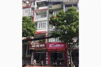 Bán nhà mặt phố Thái Hà, Đống Đa, 65m2, 4 tầng, mặt tiền 4.5m, giá 19.5 tỷ