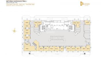 Chính chủ cho thuê căn shophouse Masteri Thảo Điền, quận 2, giá 65 triệu 0932 069 399