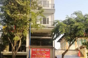 Cho thuê tòa nhà mặt tiền Bến Vân Đồn, P. 5, Quận 4, DT: 4.6x19m, hầm 5 lầu thang máy, giá 92tr/th