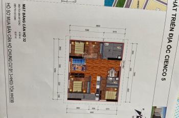 Bán chung cư Thanh Hà, căn 3 phòng ngủ, diện tích 92m2 chênh rẻ 150tr. Lh: 096.996.8996