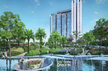 Bán căn hộ Thủ Thiêm Dragon, view sông Sài Gòn, 1-3PN, NT cao cấp, Q2/2020 giao, chỉ 42tr/m2 VAT