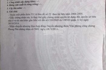 Mặt tiền An Phú Đông 9, DT: 96m2, giá 7 tỷ