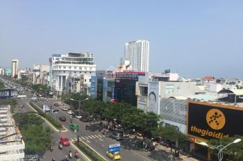 Cho thuê văn phòng 2 mặt tiền Nguyễn Văn Linh, 15x14m = 210m2, cạnh cầu Rồng, Samsung, FPT Shop