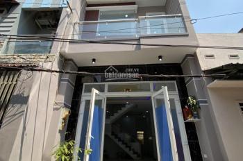 Nhà mới 1/ Kênh Tân Hóa, P Hòa Thạnh, DT 4.2x13m, 3 tấm, 3PN, 3VS, giá 6.2 tỷ