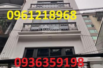 Chính chủ cần bán gấp nhà mặt ngõ kinh doanh tại Đội Cấn Ba Đình dt 46 m2 x 6 tầng mới giá 9,5 tỷ