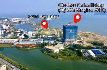 Quỹ căn đẹp Citadines - căn 162X, 50m2 tầng đẹp ôm trọn Vịnh Hạ Long, quà tặng KH, giá 1.3 tỷ