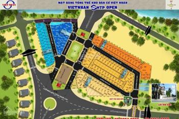 Lô B25 dự án SHTP Long thuận DT 52m2 giá 2.08 tỷ hướng Tây nam xây dựng hiện hữu, LH 0909573093