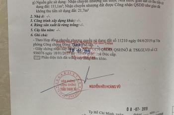 Cần tiền nên bán gấp lô đất MT đường 13, P. Linh Xuân, Q. Thủ Đức