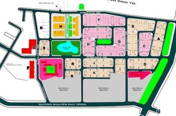 Bán đất nền lô C13 KDC Đông Thủ Thiêm, Quận 2 (50 triệu/m2)