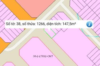 Bán đất Lavender City, lô góc A6 ô 6, 8x20m, giá 2,7 tỷ, LH: 0974.682.241, Thạnh Phú, Vĩnh Cửu