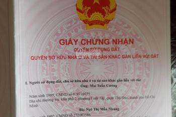 Cần bán 838m2 đất xã Xuân Thọ, Xuân Lộc, Đồng Nai