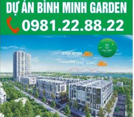 Mở Bán Shophouse 2 mặt tiền Bình Minh Garden CK 20%, LS 0%/24 Tháng. LH: 0981228822
