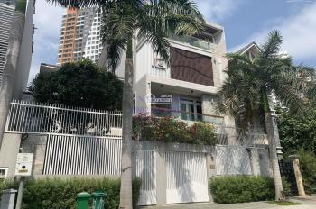 Cho thuê biệt thự 12x22m sân vườn trệt 3 lầu đường Thân Văn Nhiếp, P. An Phú, Quận 2