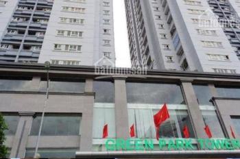 Chính chủ cho thuê chung cư tòa B Green Park, 3 phòng ngủ, dt 104,5m2, đầy đủ nội thất