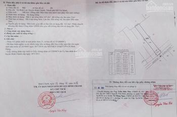 Bán đất 5*37m, đường Vườn Thơm , ngay trường tiểu học Bình Lợi, giá 2.75 tỷ, lh 0934054046