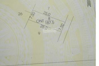 Bán đất đường 420, Bình Yên, Thạch Thất, DT 180m2, MT 7,5m, giá 1,6 tỷ. LH 0961.266.229