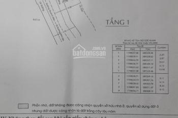 Cần bán nhà mặt tiền đường Quách Điêu, ngay ngã tư Quách Điêu, Phạm Văn Sáng