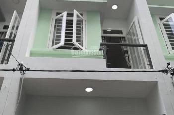 BÁn nhà 3 lầu mới xấy ở  đường Mã Lõ, Bình Tân, giá chỉ 1.6 tỷ