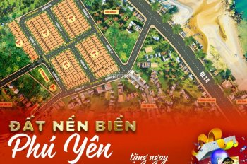 Bán đất sổ đỏ BIỂN gần KDL Ghềnh Đỏ Phú Yên. Giá 568tr/ nền.