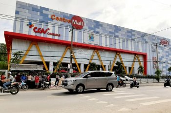 Cần bán lô góc 2 mặt tiền đường nhựa 20m, cách siêu thị 2km full thổ cư, SHR, XDTD LH: 0936707776