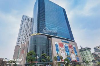 Chủ đầu tư cho thuê sàn văn phòng hạng A  tại tòa TNR Tower 54A Nguyễn Chí Thanh, Đống Đa, 200m2