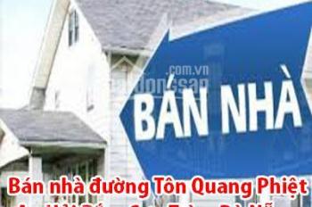 Bán nhà đường Tôn Quang Phiệt- An Hải Bắc- Sơn Trà Đà Nẵng