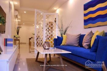Bán căn hộ Vũng Tàu Melody , 2 phòng ngủ 2 wc , nhà trống  view biển , LH 0792366350 Ms Yến