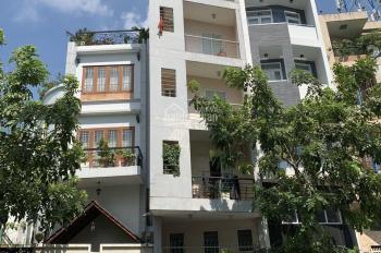 Cho thuê nhà mặt tiền đường Quốc Hương 8x20m, hiện trạng 3 lầu giá 99tr/tháng