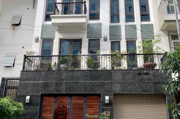 Cho thuê nhà đẹp ngõ 67 Văn Cao đối diện sân vận động Quần Ngựa DT 106m2 x 4 tầng, MT 9m