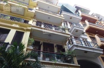 Cho thuê nhà 5 tầng x 50m2, mặt ngõ 26 Nguyên Hồng, Phường Láng Hạ, ngõ rộng ô tô tải đỗ cửa