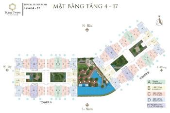 Bán căn hộ Topaz Twins - đủ loại diện tích - tầng - vị trí - giá rẻ nhất thị trường - LH 0945255207