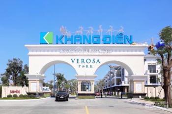 Nhà phố Verosa Khang Điền, giỏ hàng CĐT, 65 - 120m2, chỉ từ 2.9 tỷ, mở bán đợt 1, CK lên đến 20%