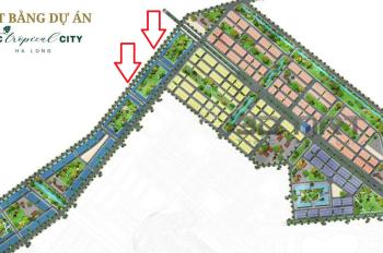 NGOẠI GIAO lô Shophouse '3 mặt tiền' view biển dự án FLC Tropical City Hạ Long