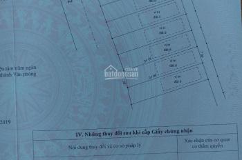 Bán lô đất mặt tiền đường Hương lộ 2, mở rộng 30m, diện tích 220m2. Giá 2tỷ350; gọi 0971137222