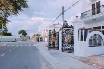 Nhà 1 trệt 2 lầu Phường Phú Mỹ, TP Mới Bình Dương, có sân đậu ô tô, lh 0978 787 736