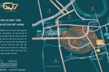Căn hộ mặt tiền Nguyễn Lương Bằng, Phú Mỹ Hưng giá từ 38tr/m2, nhận nhà 2020, tặng gó full nội thất