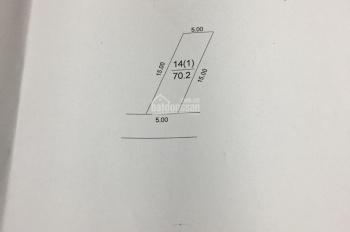 Chỉ hơn 10tr/m2 bán gấp 70,2m2 đất Nguyên Khê 300m ra đường Lê Hữu Tựu LH 0978886210(Mrs Lợi)