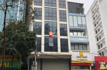 Cho thuê gấp nhà mặt phố Yên Lãng, Đống Đa, Hà Nội. DT 78m2 * 5 tầng, MT 8m, giá 65 tr/th