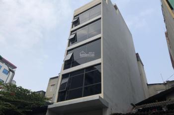 Cho thuê nhà ngõ 9 Hoàng Cầu, Đống Đa, Hà Nội, DT 75m2 * 8 tầng, MT 5 m, giá 85 tr/th