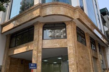 Chính chủ thuê nhà MP tại đường Nguyên Hồng; 126m2*9 tầng giá 215 triệu/1 tháng; LH: 0934455563