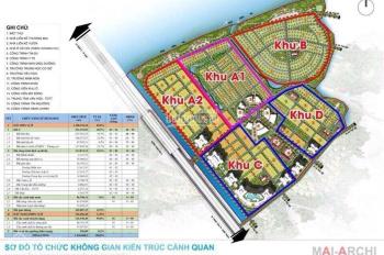 Cần bán lô góc đường lớn nhất vị trí đẹp nhất khu A2 dự án king bay đối diện trung tâm thương mại