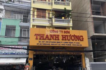 Cho thuê nhà (MT) Lê Quang Định Bình Thạnh 7x21m (800m2 sàn) trệt 6 lầu thang máy cuối nhà 200tr/th