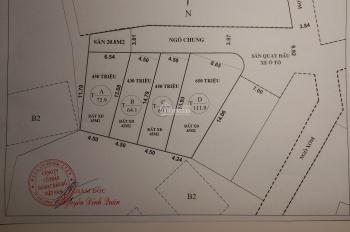 Cần bán đất sổ đỏ chính chủ phường Hà Tu, Hạ Long gần sạc lồ