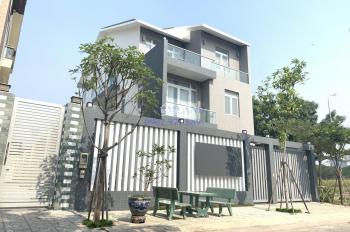 Cho thuê biệt thự 8x20m trệt 3 lầu Cao Đức Lân, p. An Phú, quận 2